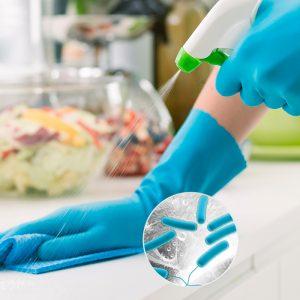Desinfección superficies